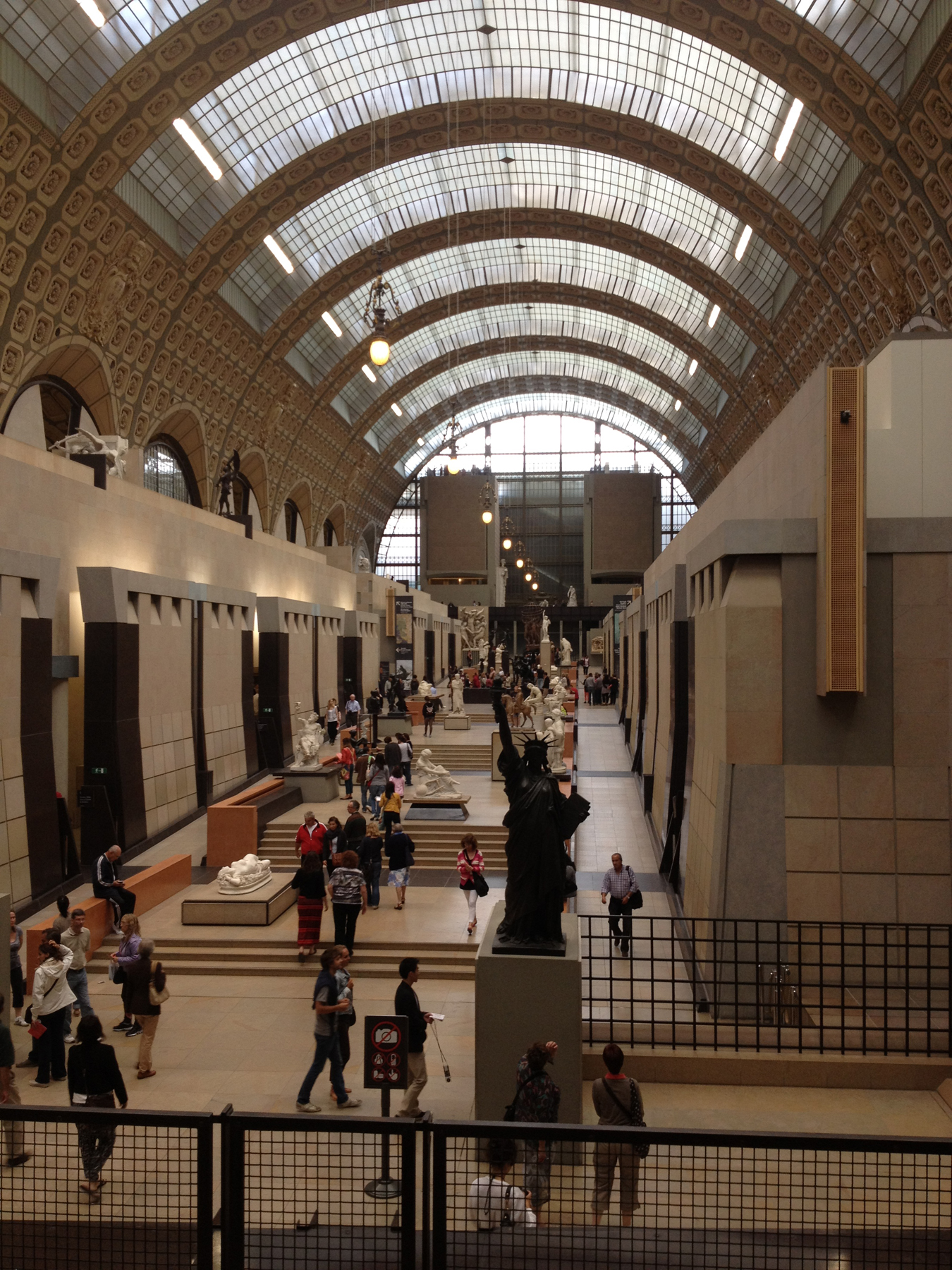 of the louvre in the basement we made our way to the musee d orsay